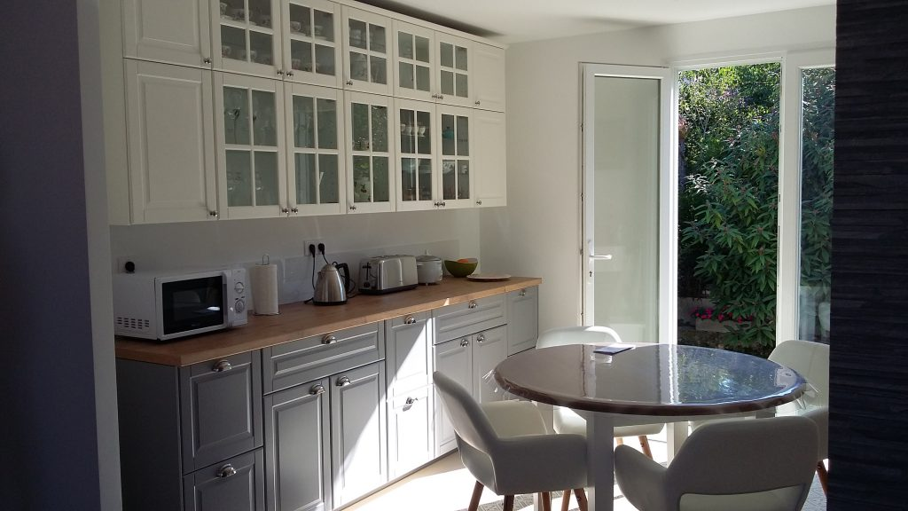 mise au norme int rieur et ext rieur d 39 une maison cachan artech habitat. Black Bedroom Furniture Sets. Home Design Ideas