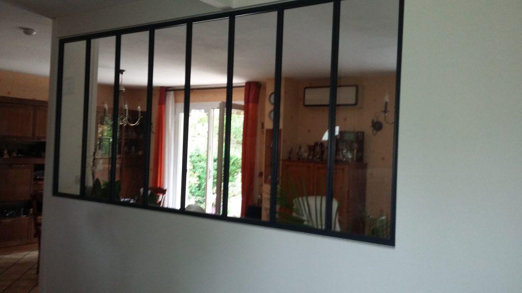 r novation int rieure et installation d 39 une verri re artech habitat. Black Bedroom Furniture Sets. Home Design Ideas