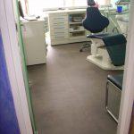 cabinet dentaire travaux de rénovation remplacement d'un sol dans un cabinet dentaire par un sol liberty