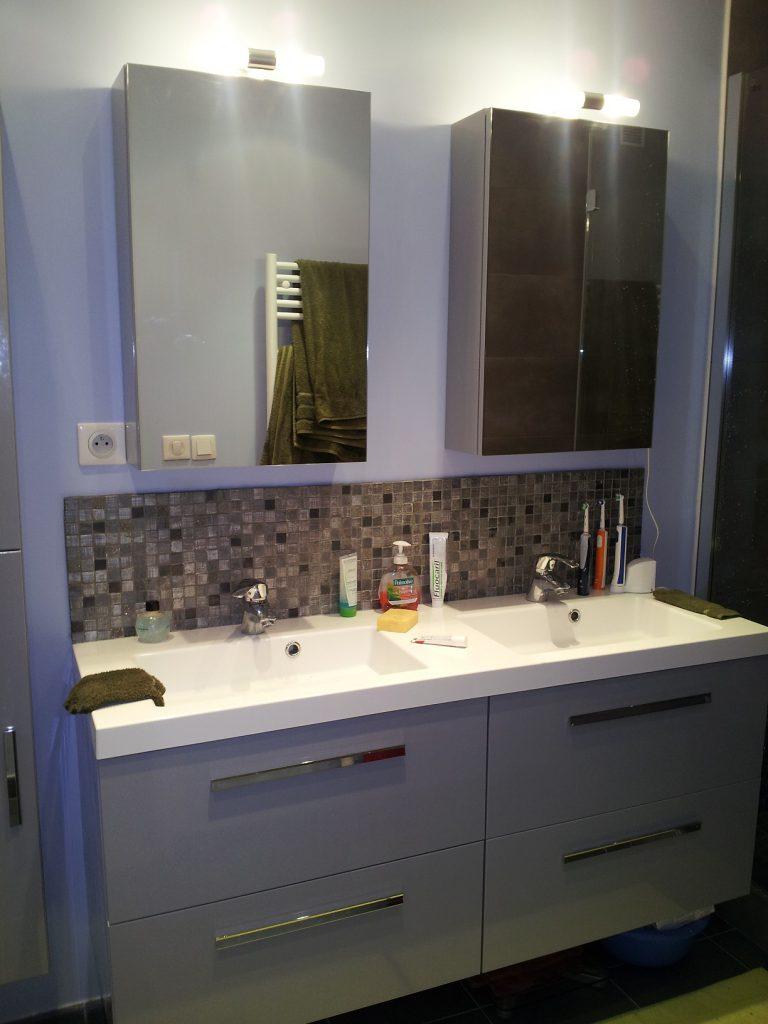 R novation et cr ation douche italienne evry salle de for Travaux et renovation