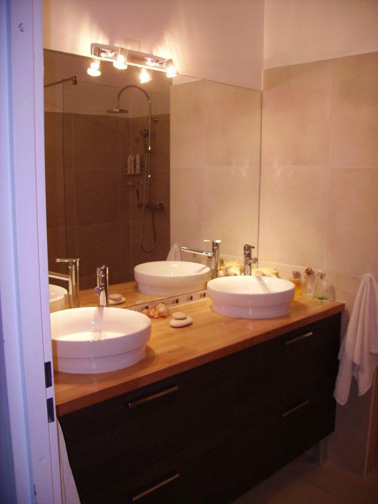travaux et r 233 novation d une salle de bain 224 longjumeau en essonne artech habitat