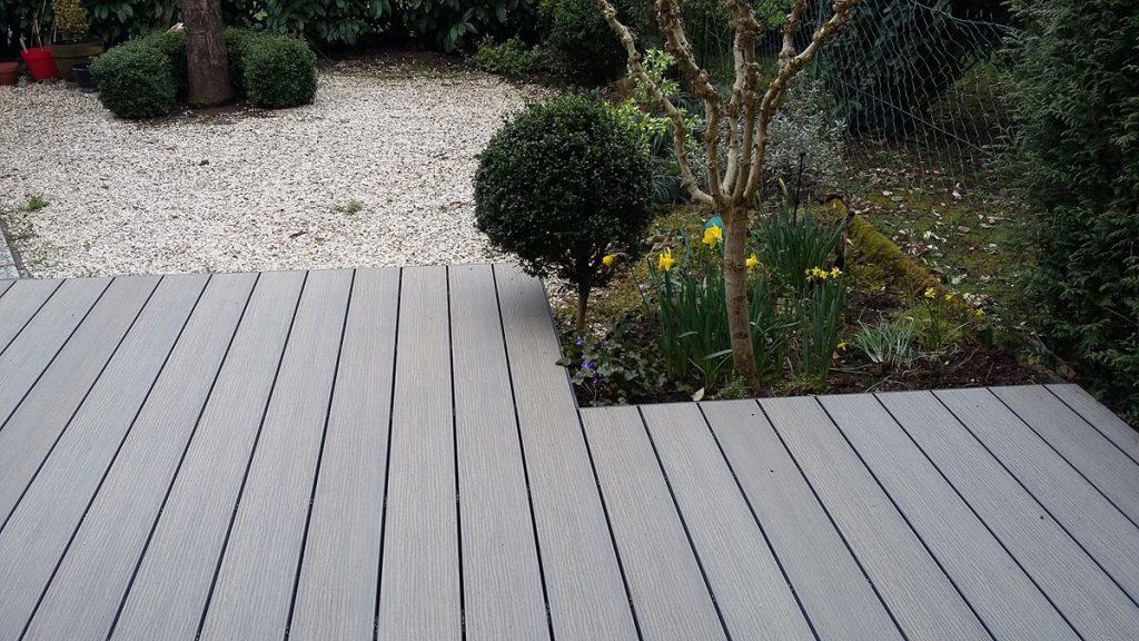Réalisation d\'une terrasse en bois composite WEX à Epinay sur Orge ...