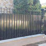 Pose clôture 91
