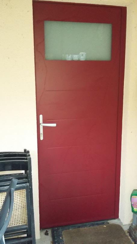 Changement Porte Garage Aluminium
