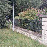 Avant travaux clôture Viry Chatillon