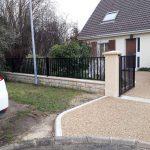 Fin des travaux clôture Essonne