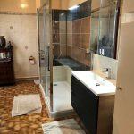 Travaux salle de douche
