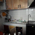 Ancienne cuisine avant travaux de rénovation