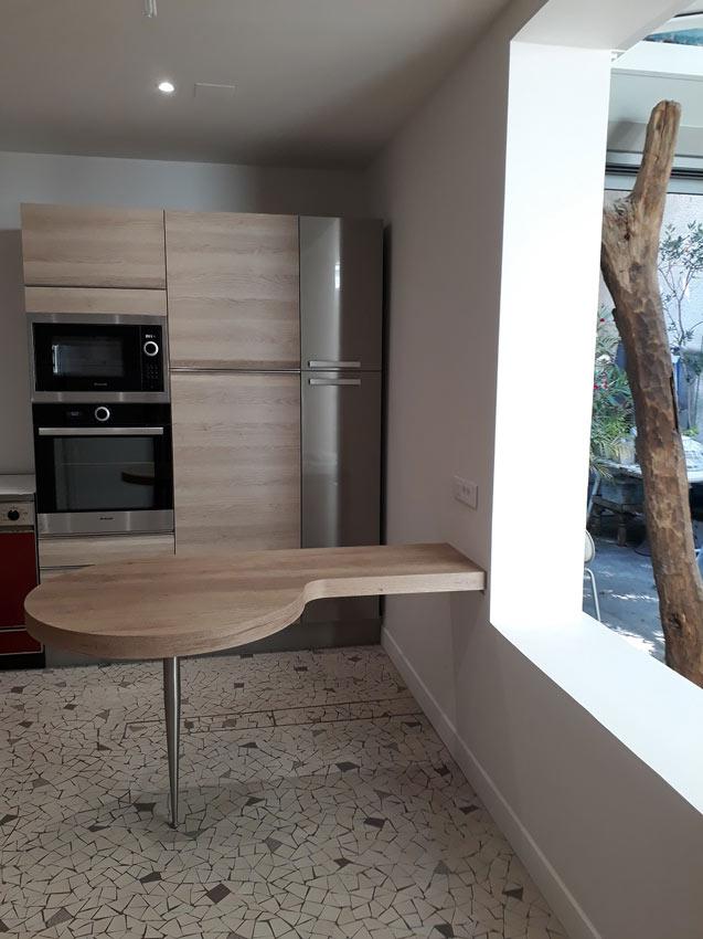 r novation am nagement d 39 une cuisine montreuil 93. Black Bedroom Furniture Sets. Home Design Ideas