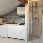 Création d'une douche dans un studio de Vincennes