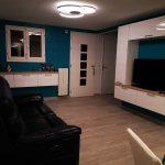 Restructuration de l'espace, salon cocooning